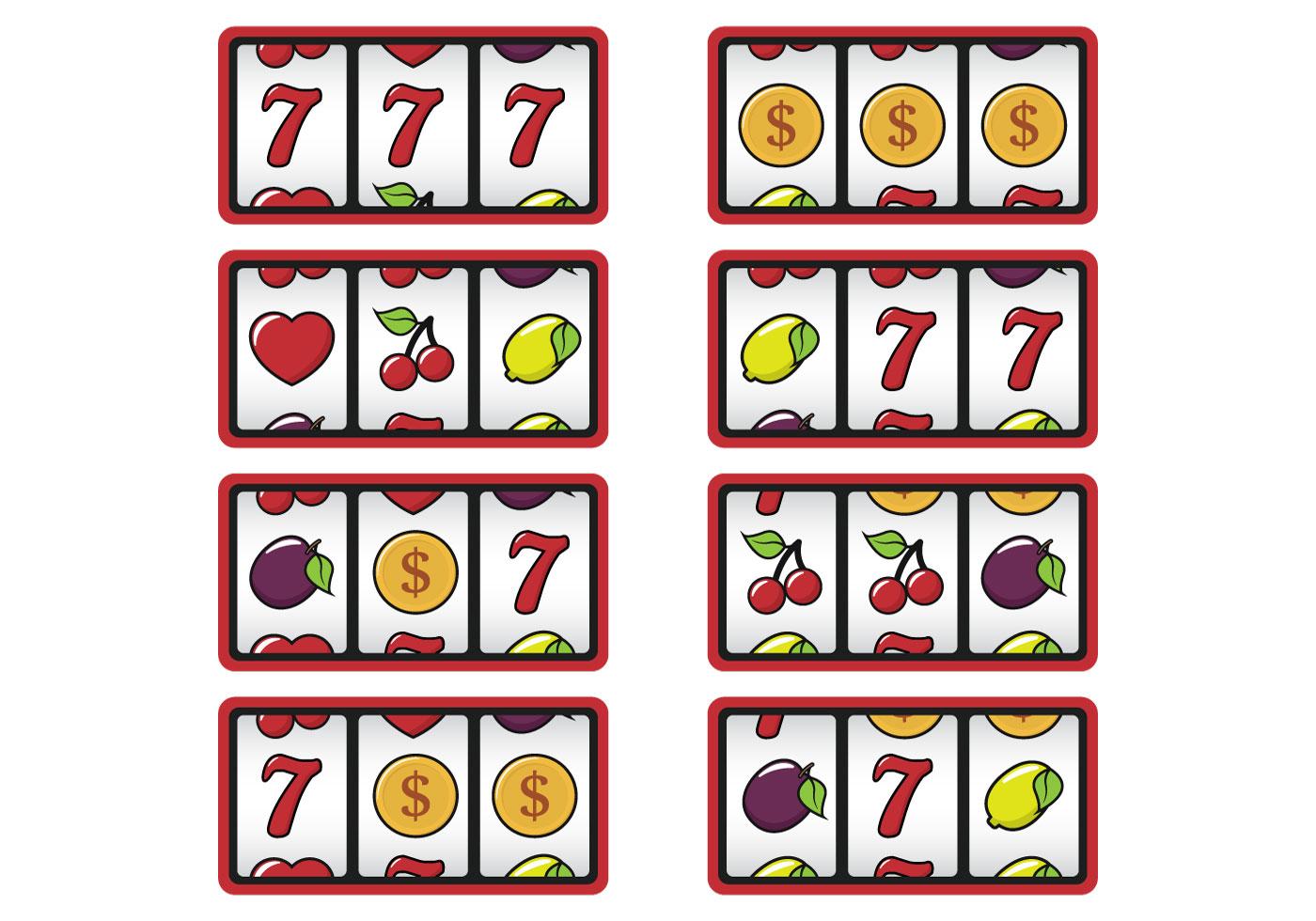 Slot Machine Display Download Free Vector Art Stock