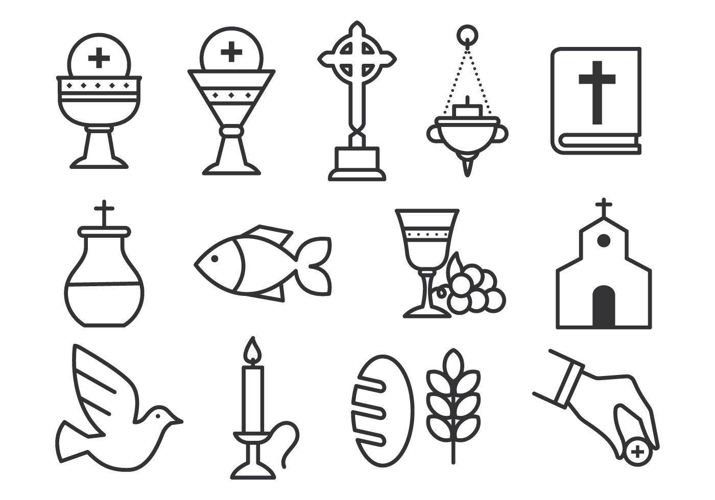 Sacrament Free Vector Art