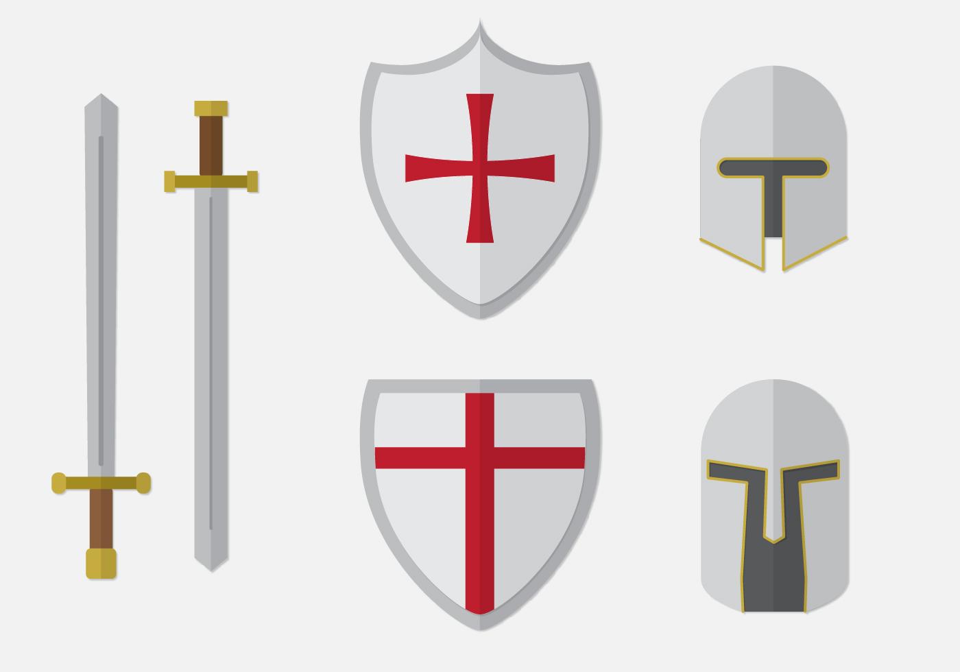 Templar Knight Elements Set