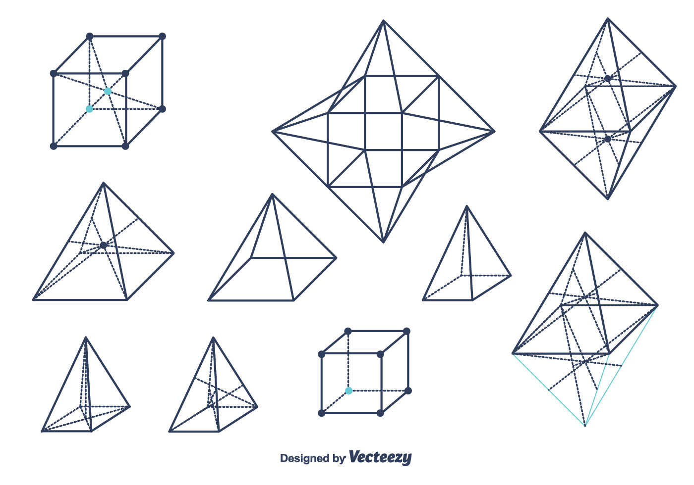 Geometrical Shapes Vector