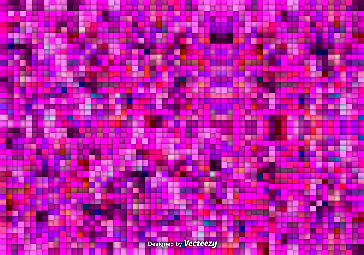 Pink Mosaic Vector Background Download Free Vector Art