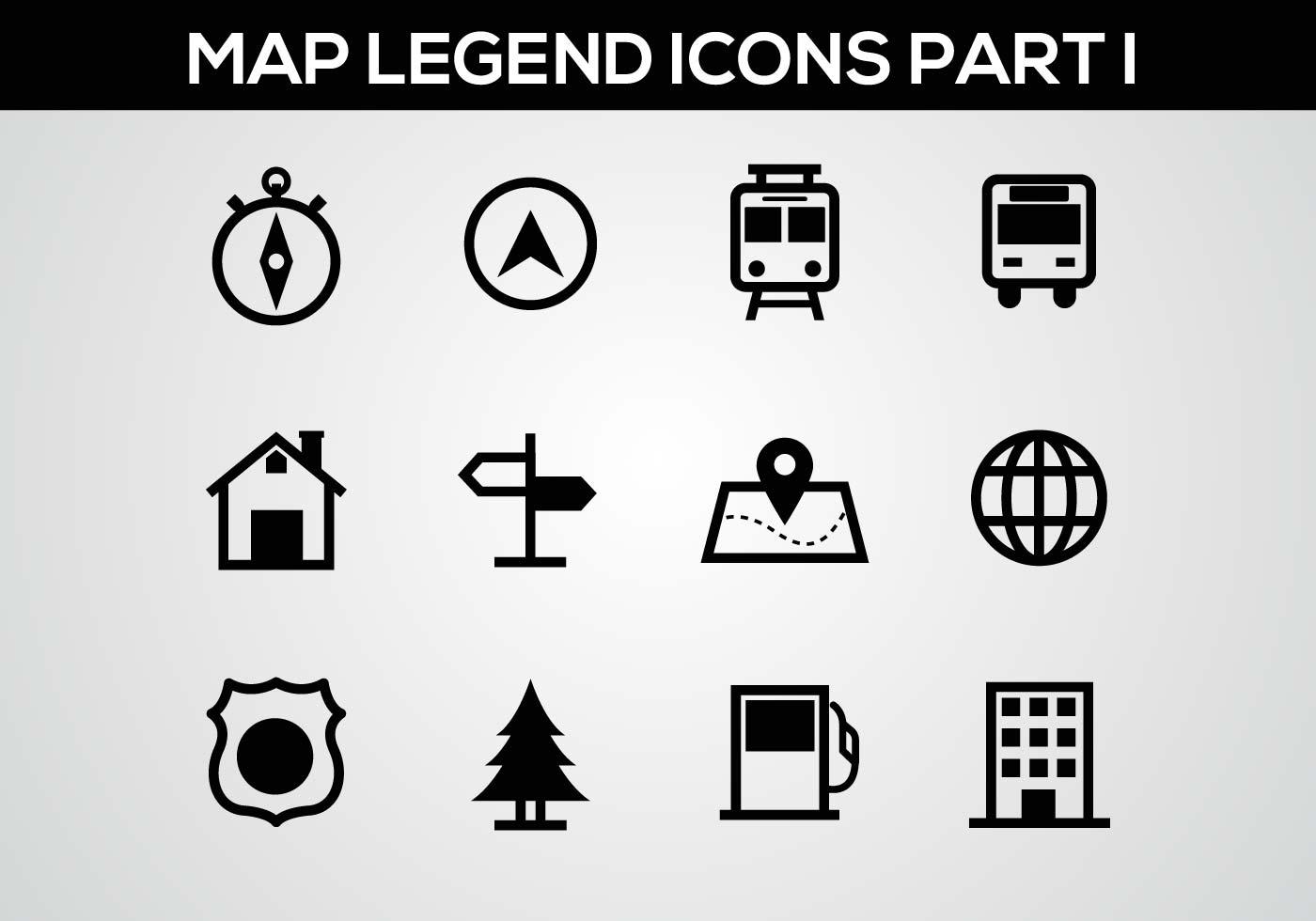 Free Map Legend Part I Vector