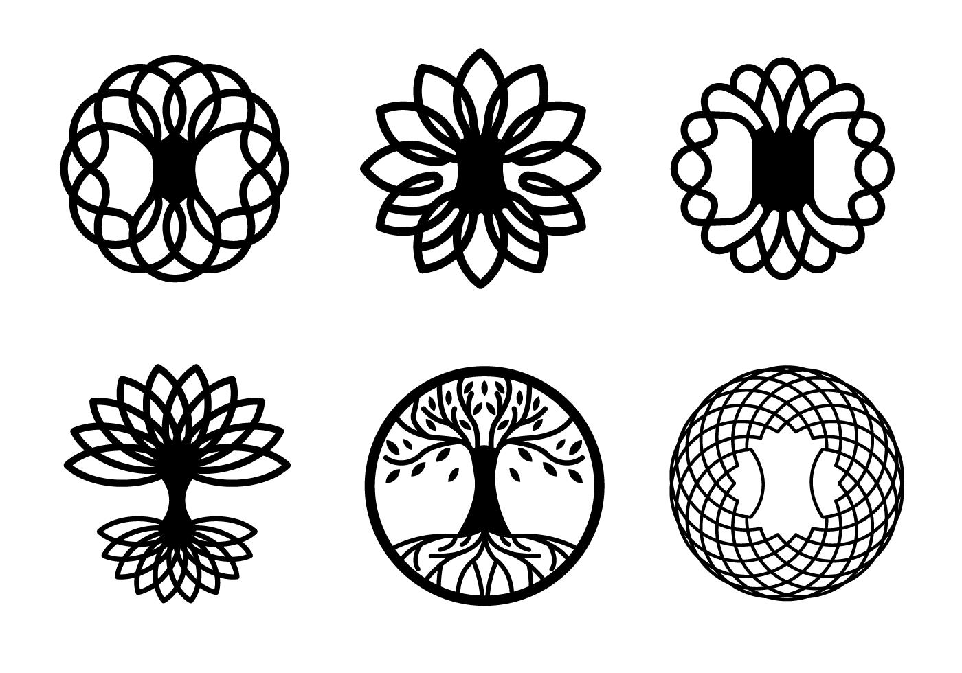Free Celtic Tree Vectors