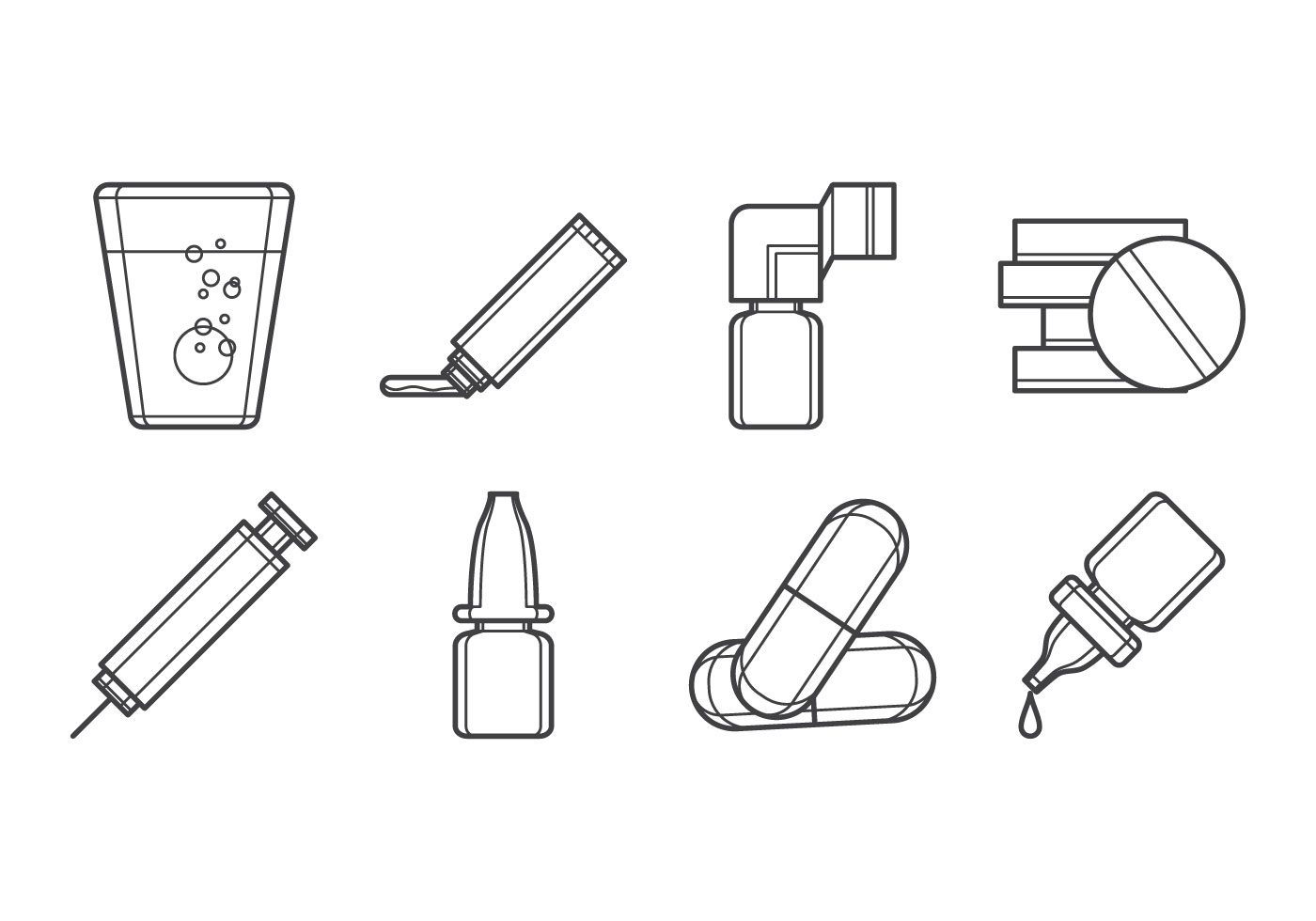 Drugs Form Icon Vector