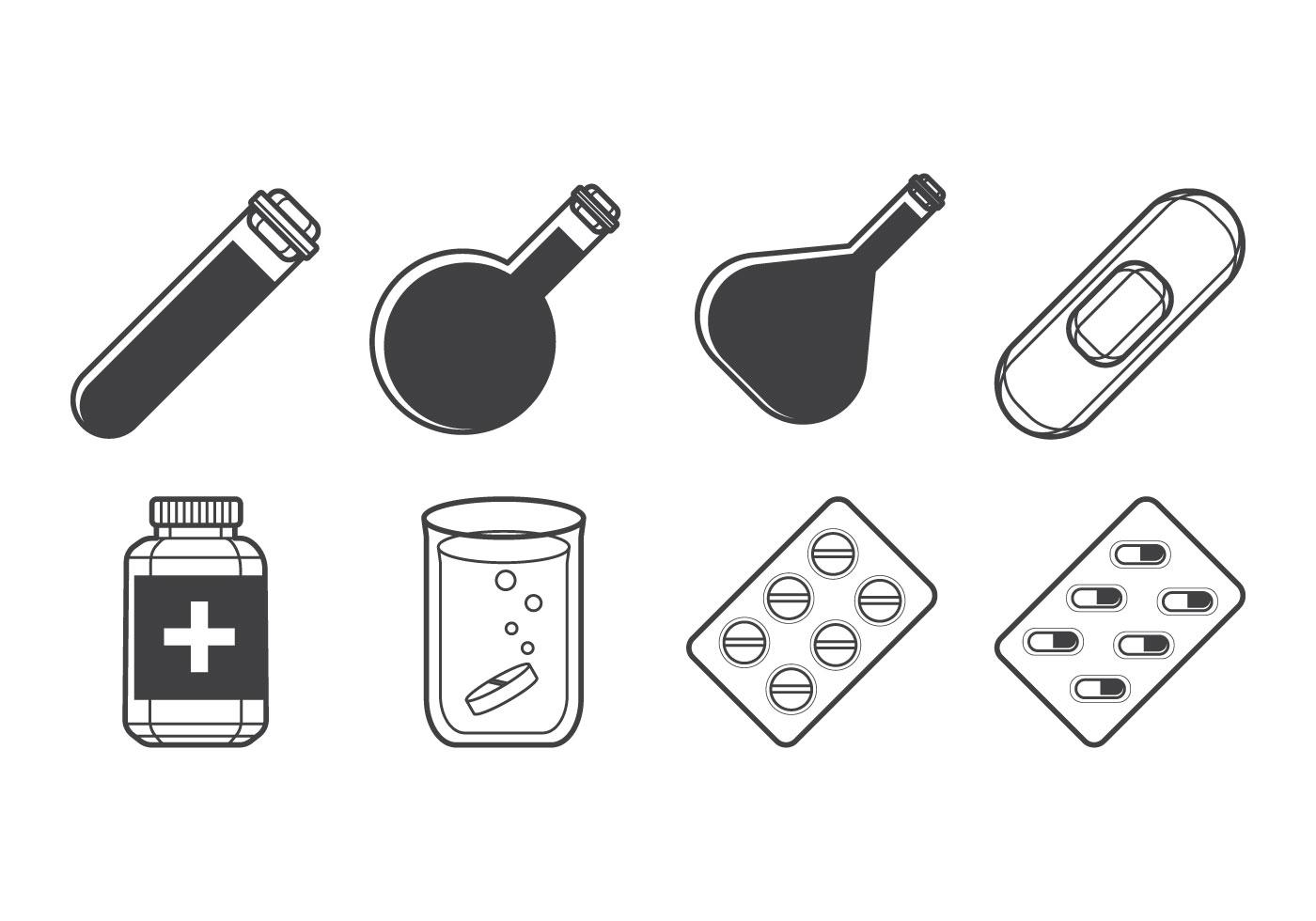 Free Medicine Icon Vector