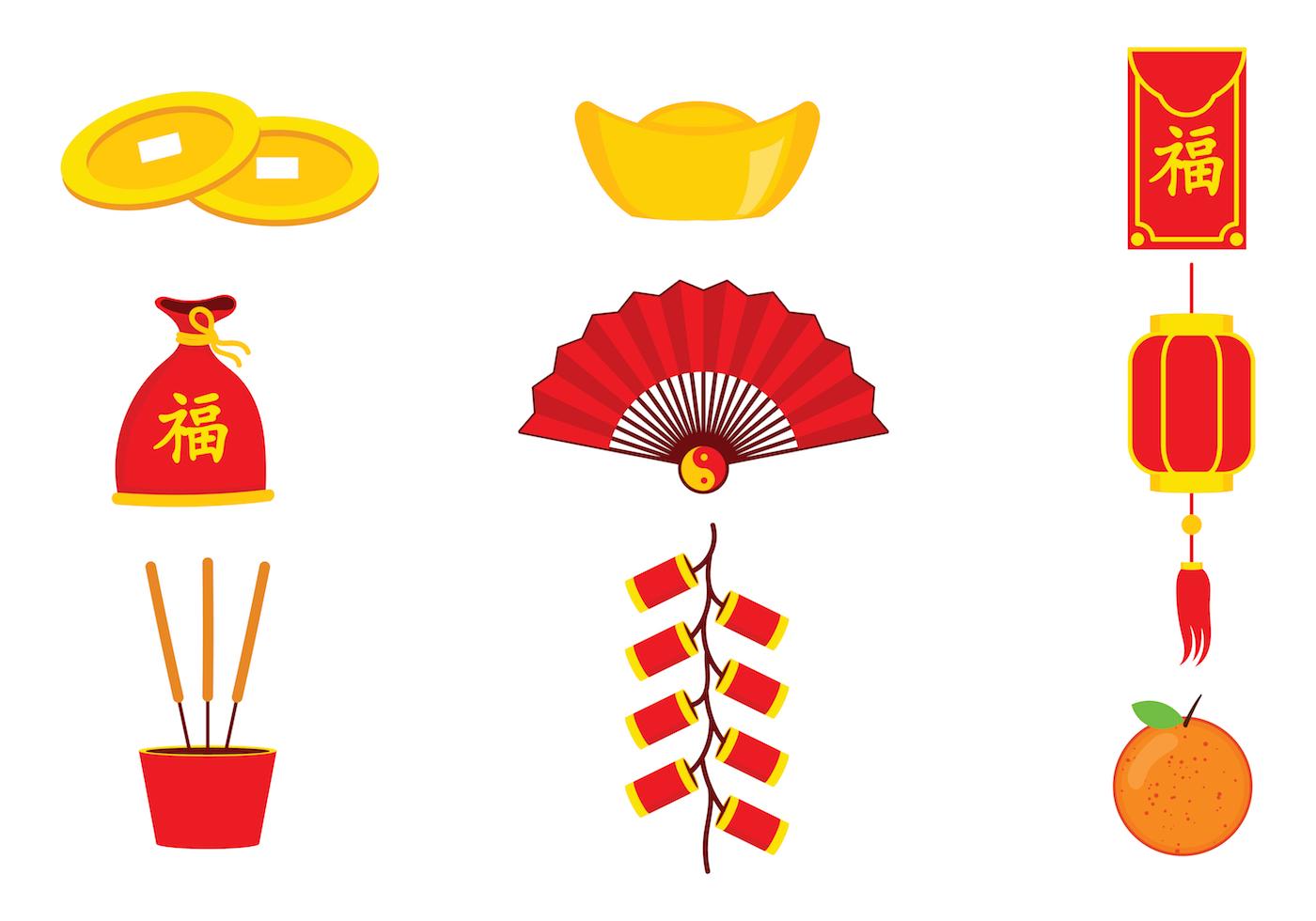 Chinese New Year Free Vector Art