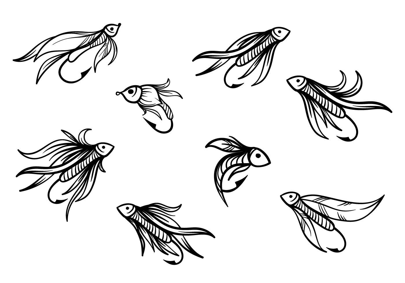 Fishing Lure Free Vector Art