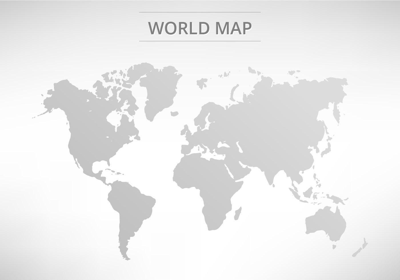 World Map Free Vector Art