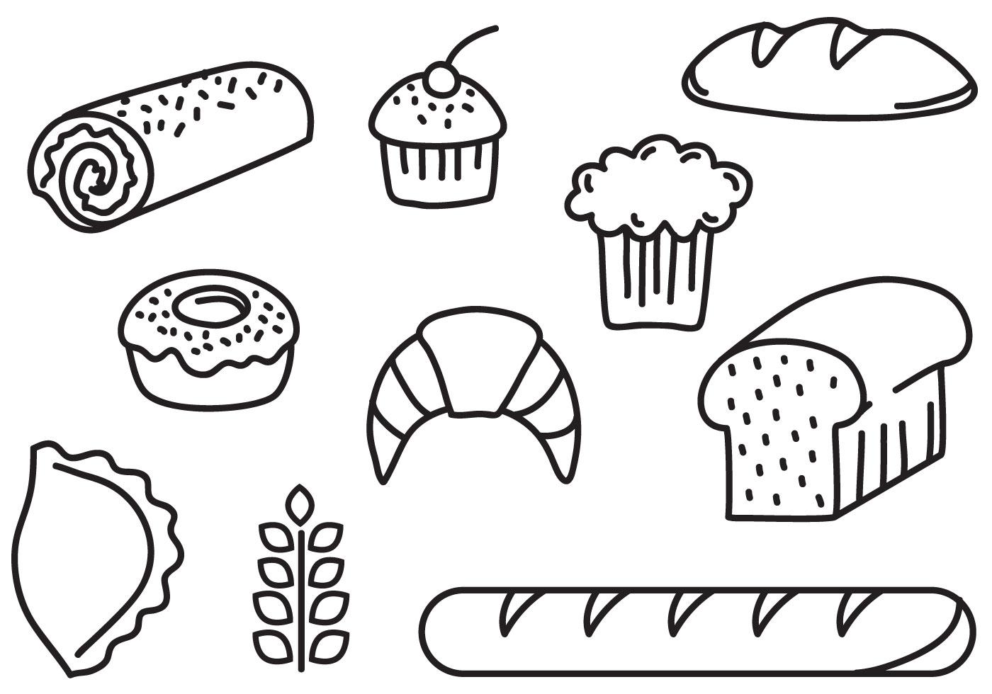 Free Bakery Bread Vectors