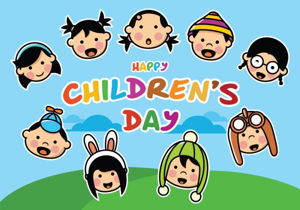 Happy Children's Day - Download Free Vector Art, Stock ...