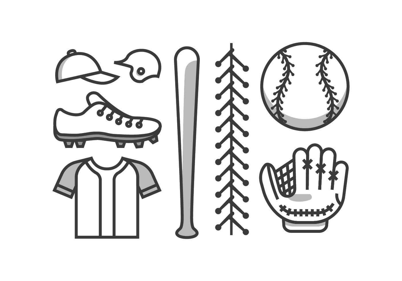 Baseball Vector Kit