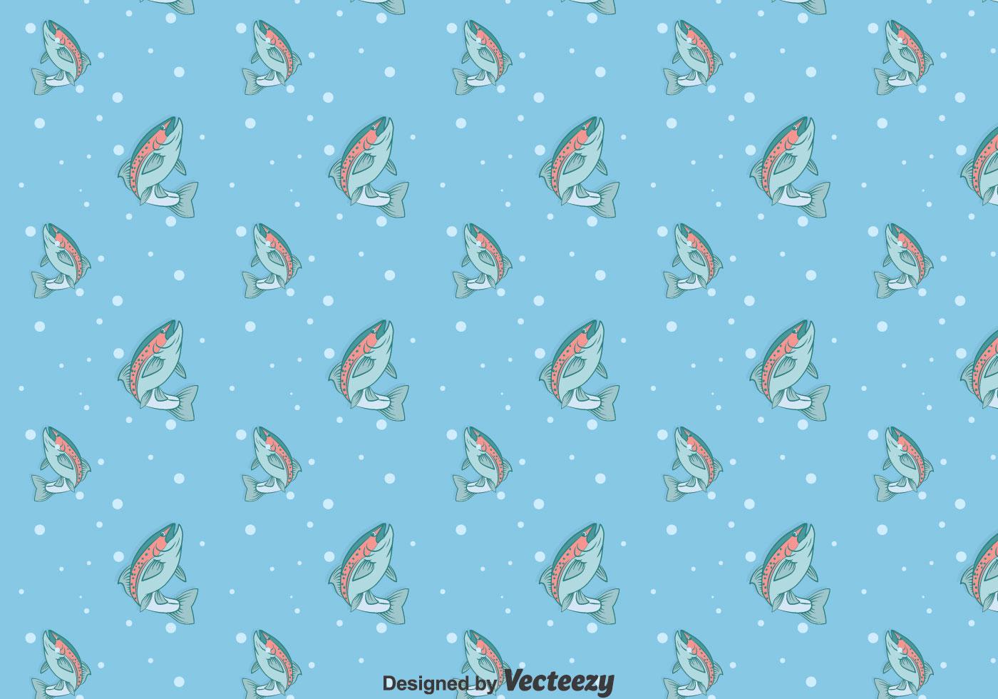 Rainbow Trout Blue Pattern
