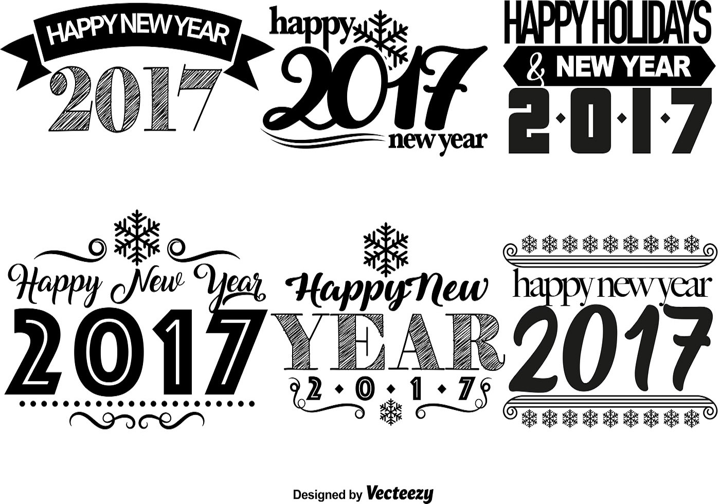 Happy New Year Templates