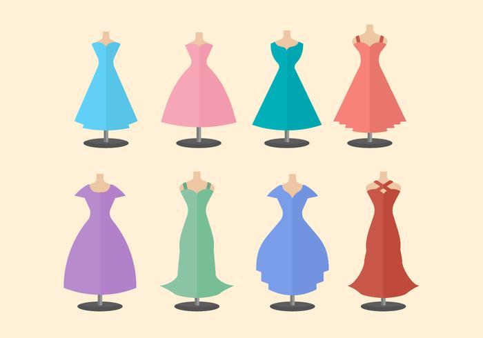 Free Bridesmaid Vector Collection