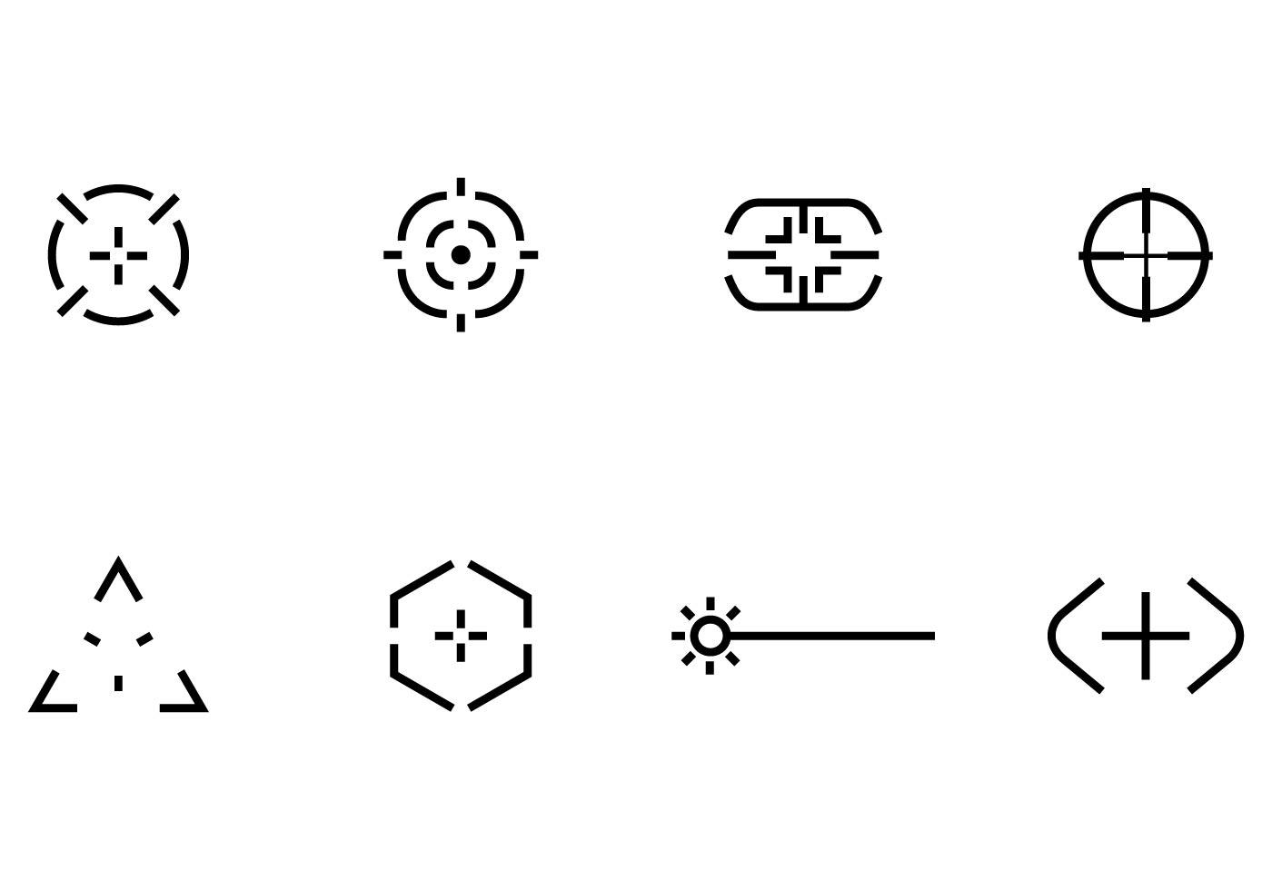 Bullseye Icon Free Vector Art