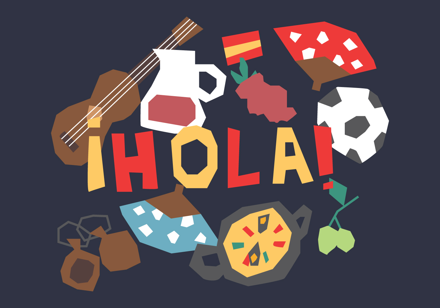 Funny Spanish Elements
