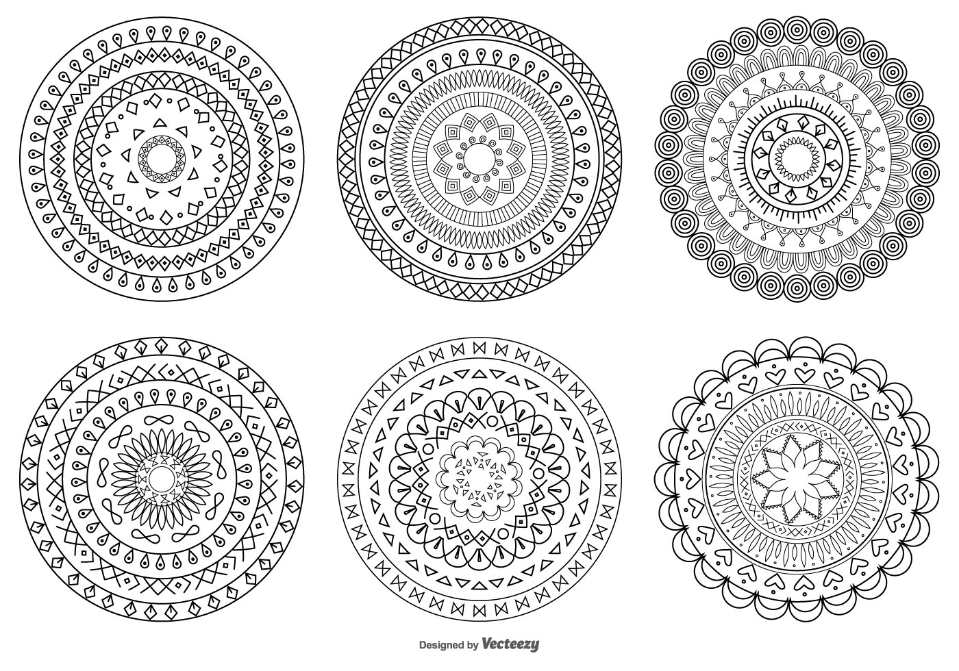 Decorative Circle Shapes Download Free Vector Art Stock Graphics Amp Images