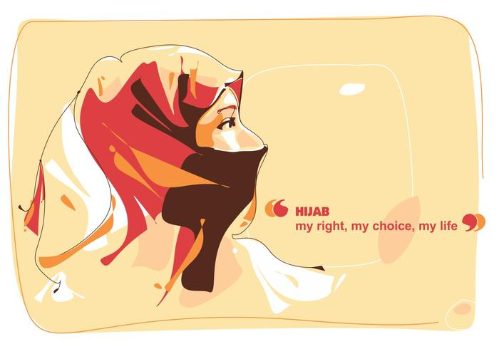 Say thanks to the image author. Hijab Vector Art Icons And Graphics For Free Download