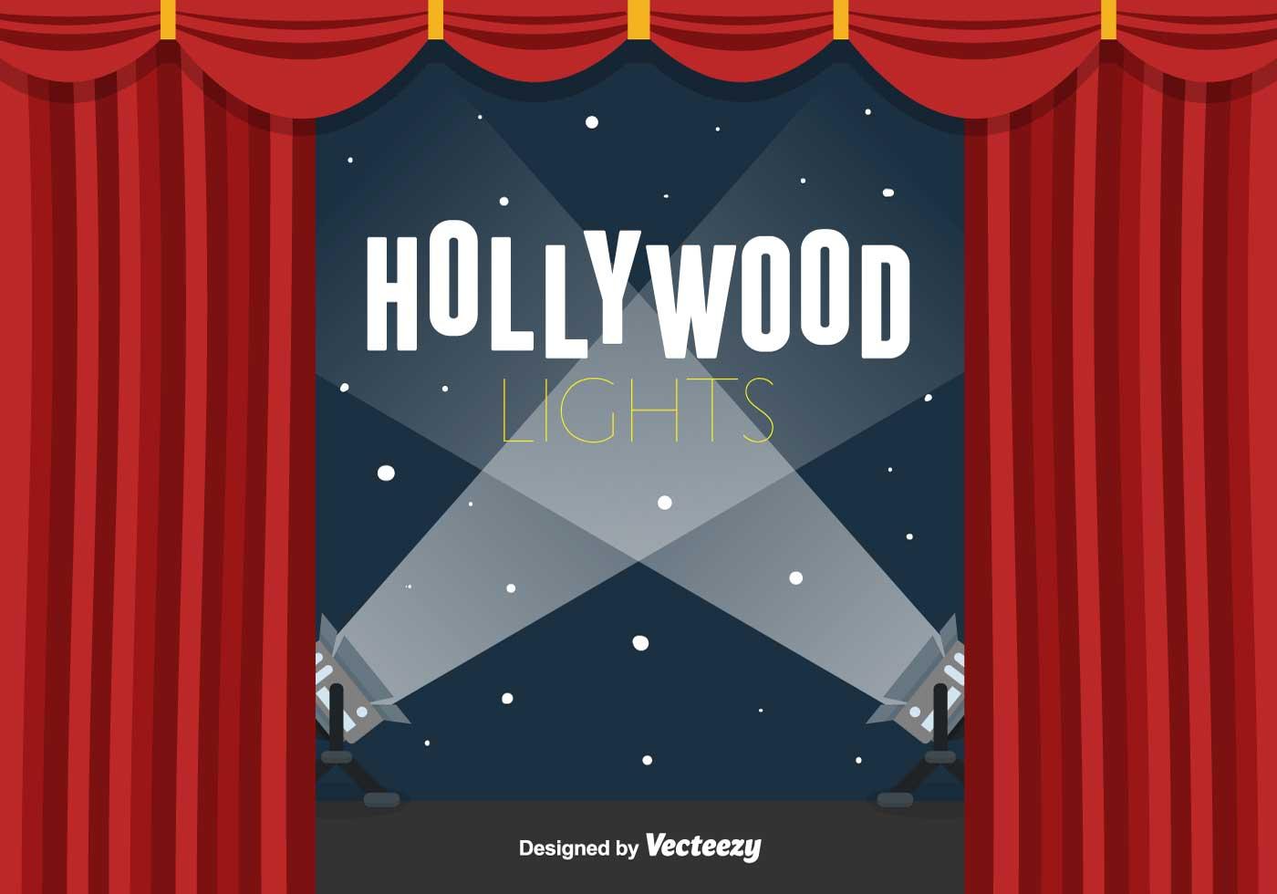 Hollywood Lights Clip Art