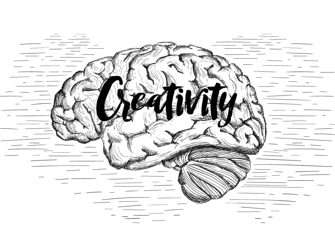 Free Vector Brain Illustration