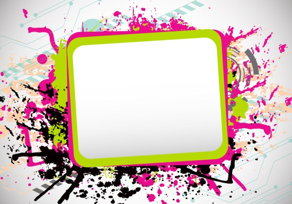 Grunge Funky Frames - Download Free Vectors, Clipart ...