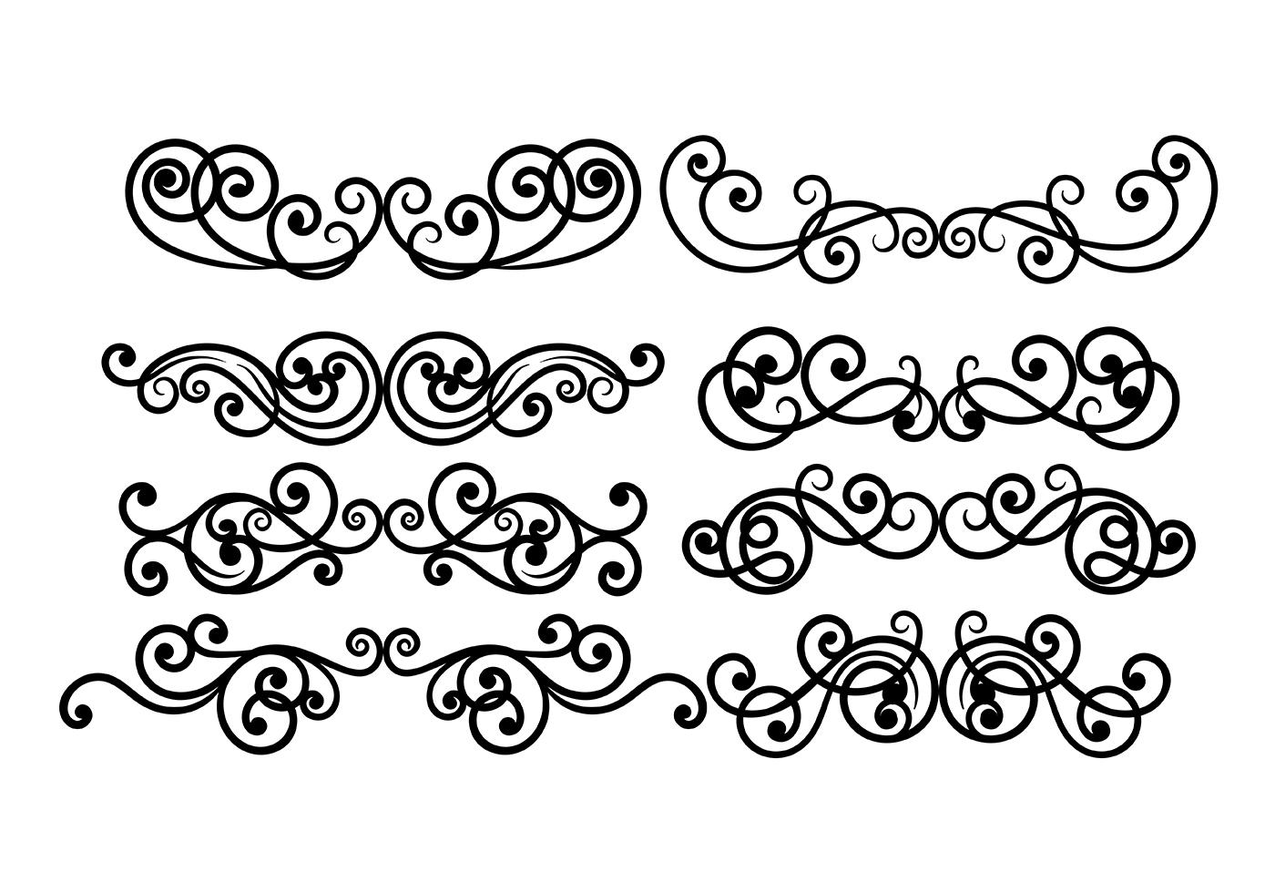 Scrollwork Vector