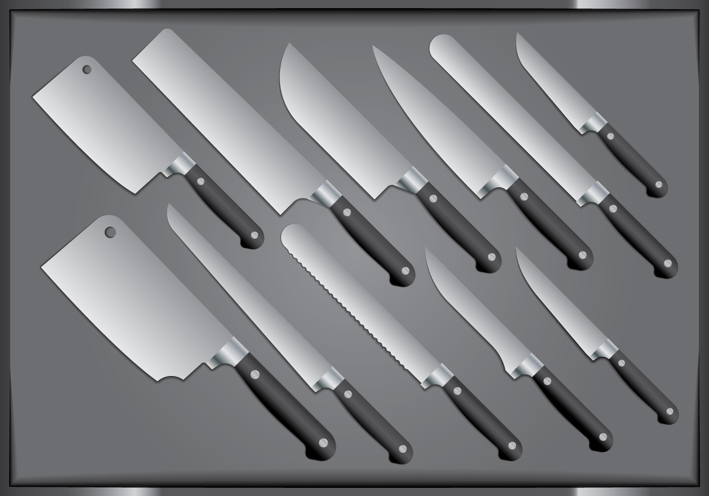 Kitchen Tools Free Vector Art