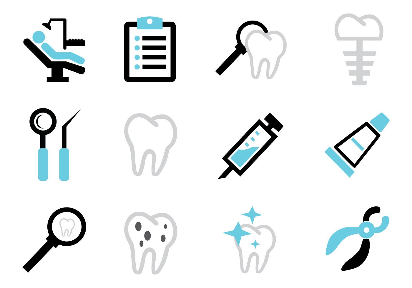 Dental Icon Free Vector