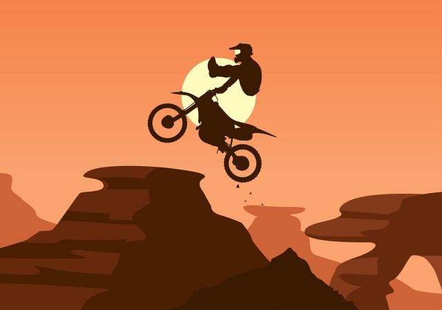 Bike Trail Jump Free Vector - Download Free Vectors ...
