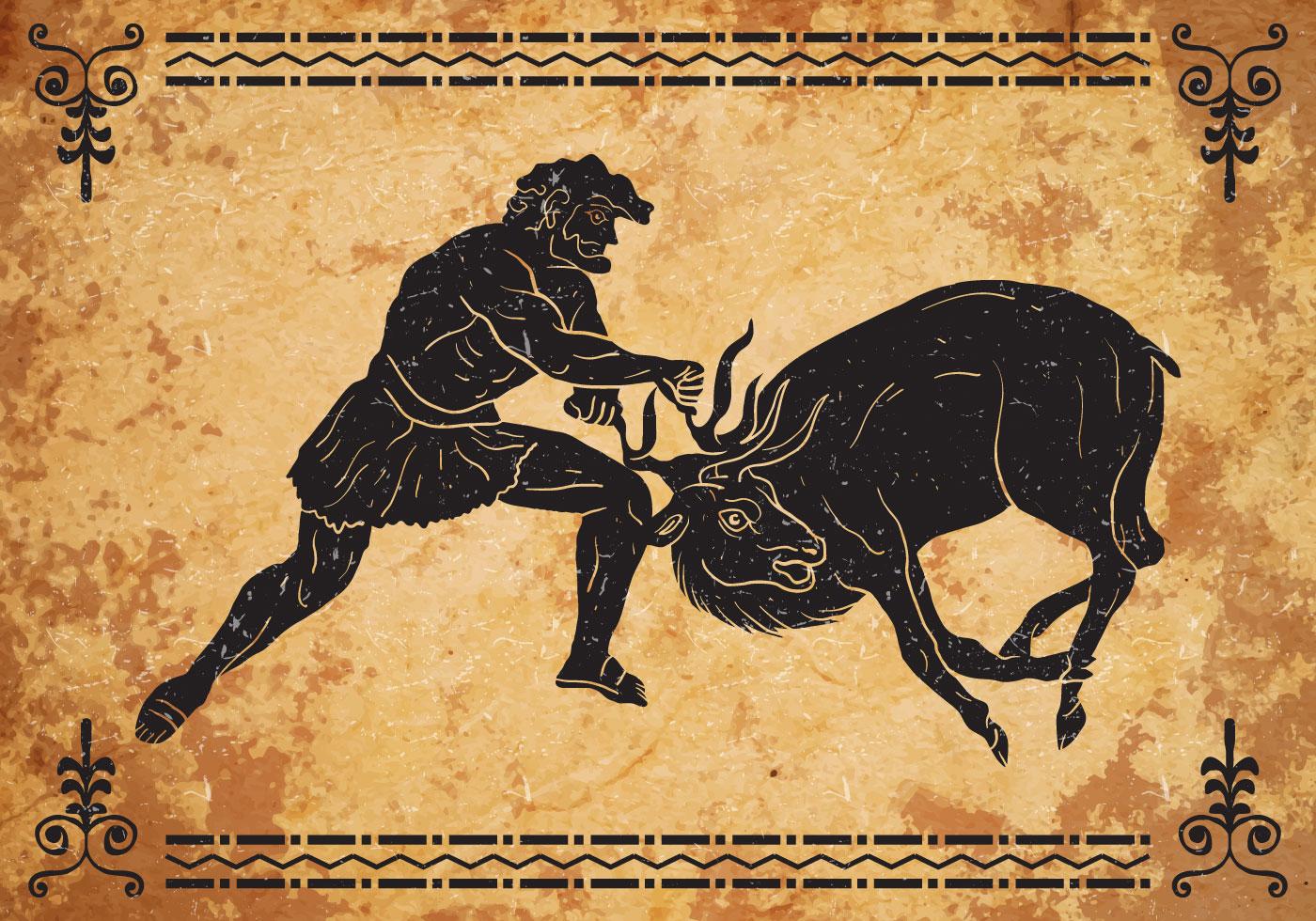 Hercules Third Labor