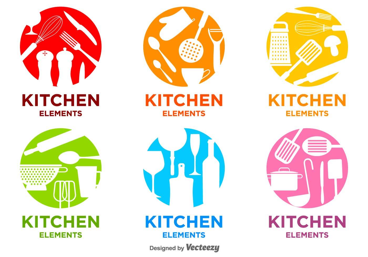 Bright Kitchen Vector Logos Download Free Vector Art