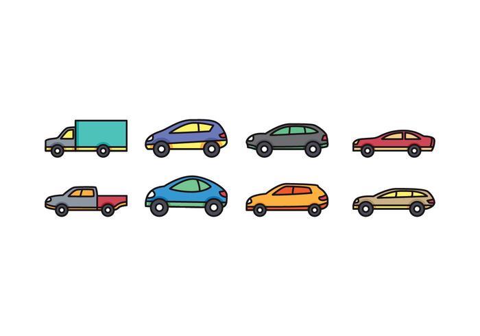 Car Icon Set Download Free Vectors Clipart Graphics