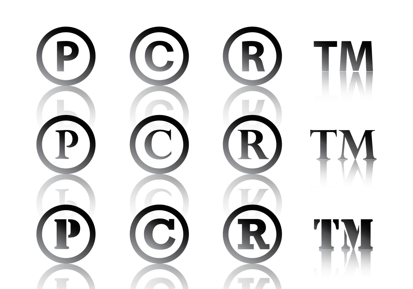 Simbolo Preto De Copyright