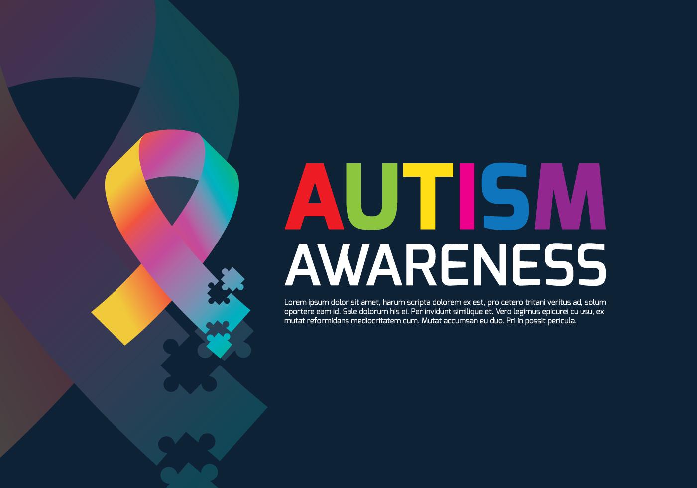 Autism Ribbon Poster
