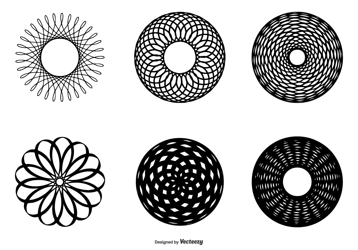 Abstract Circle Shape Collection