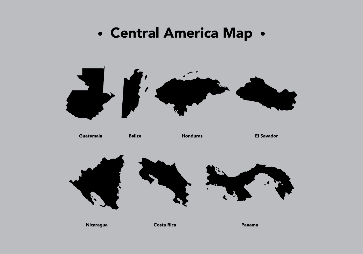 Map Of Central America | Wiring Diagram Database