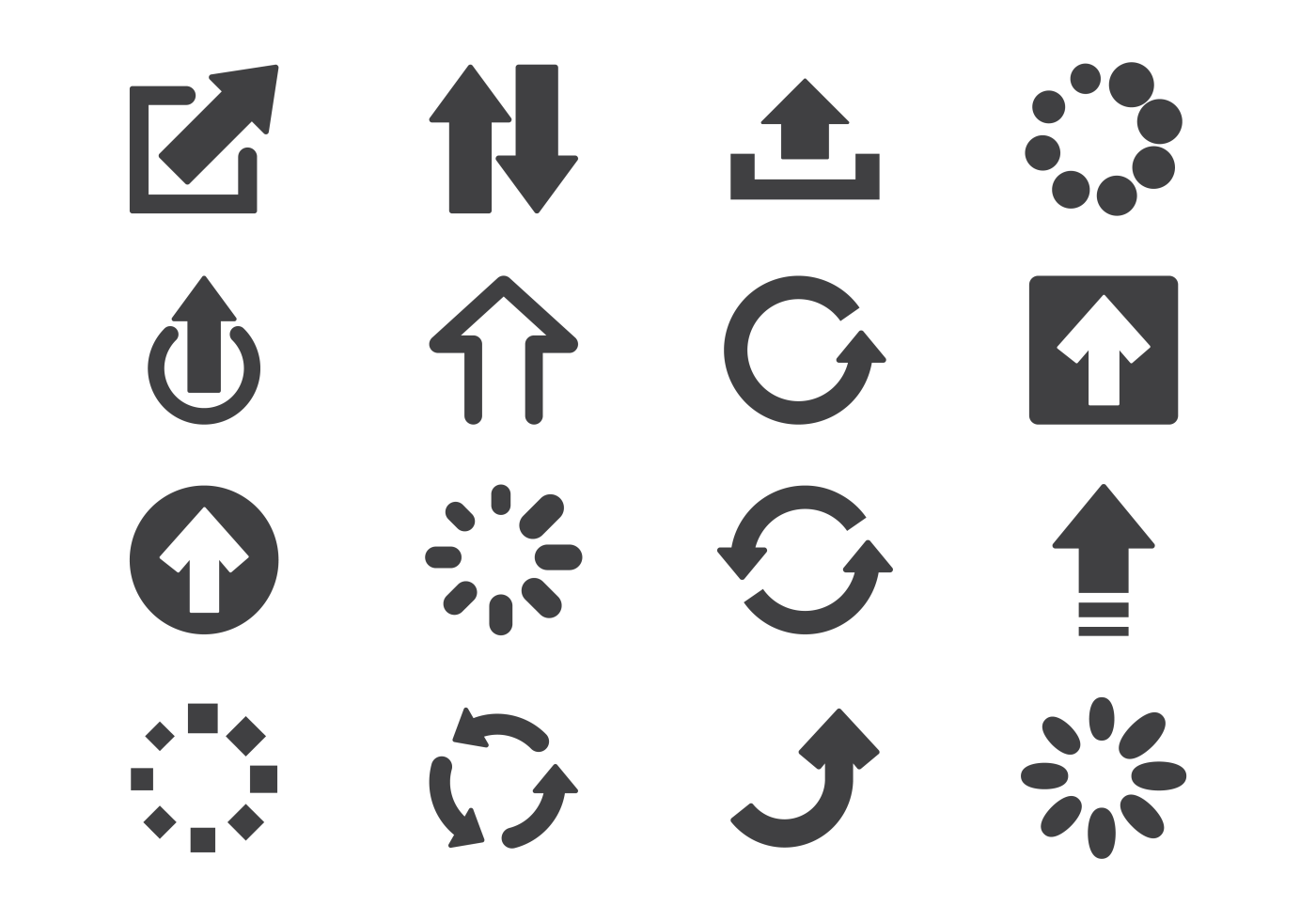 Update Icons Vector