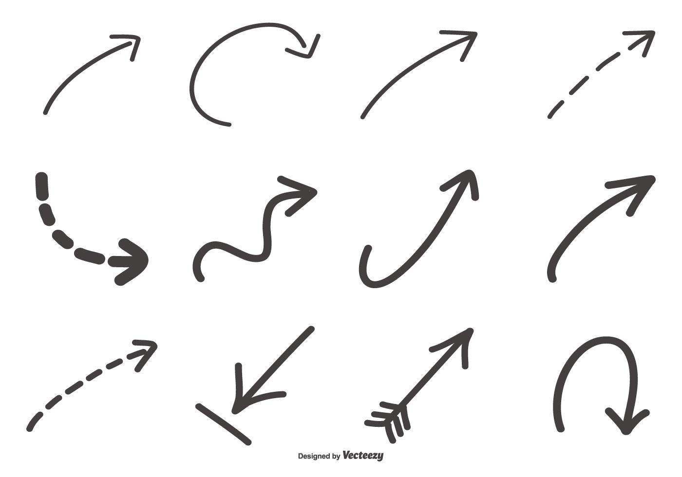 Hand Drawn Free Vector Art