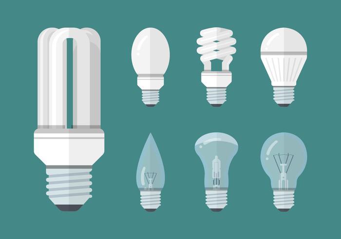 Blue Energy Saving Light Bulbs