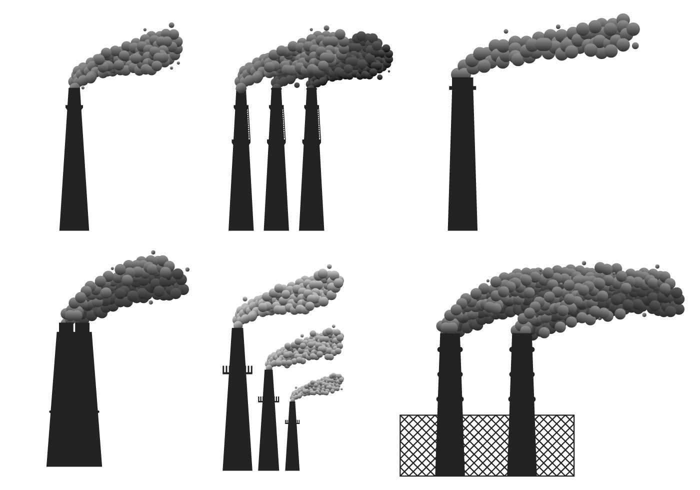 Smoke Stack Vector