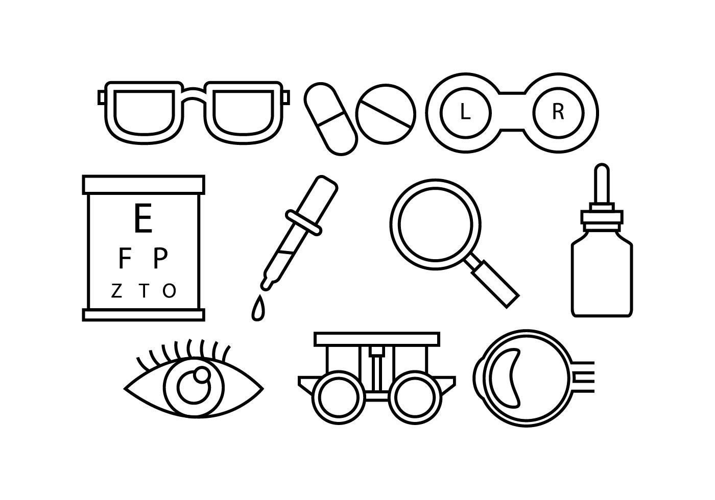 Eyes Free Vector Art