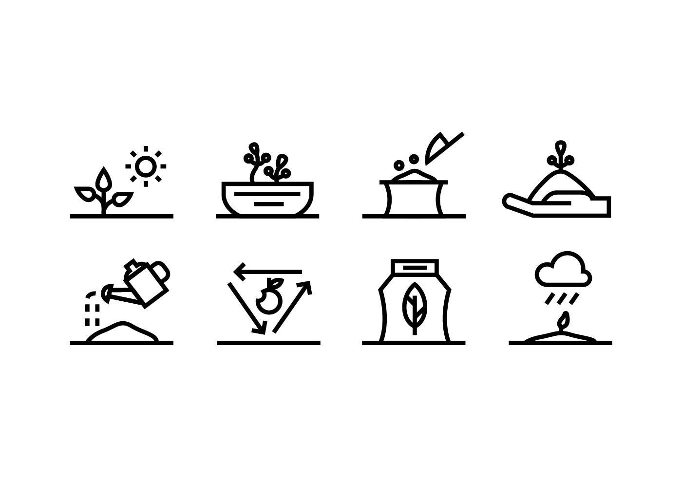 Gardening Vector Icon