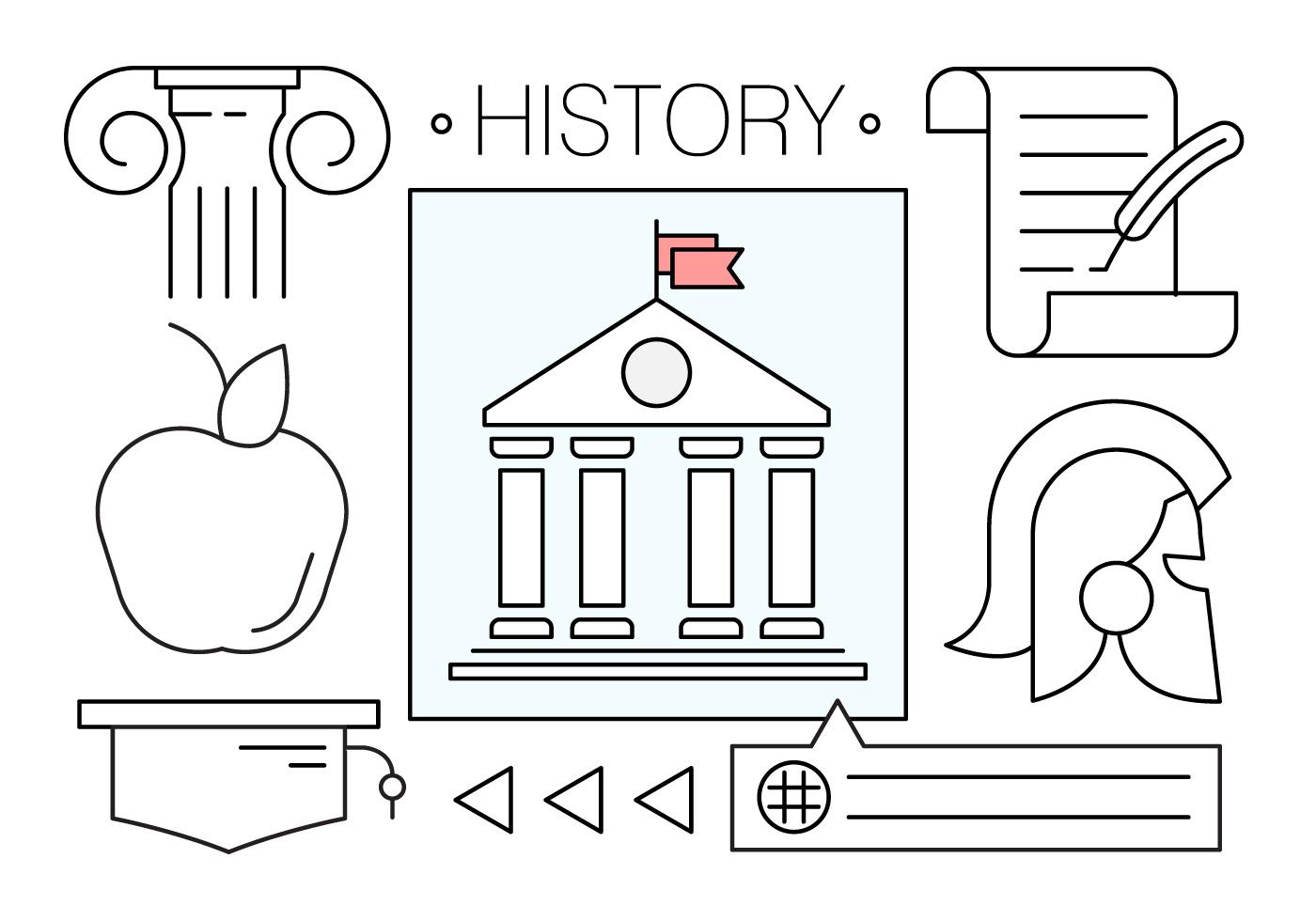 History Free Vector Art