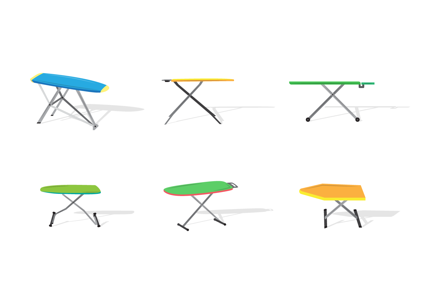 Ironing Board Free Vector Art