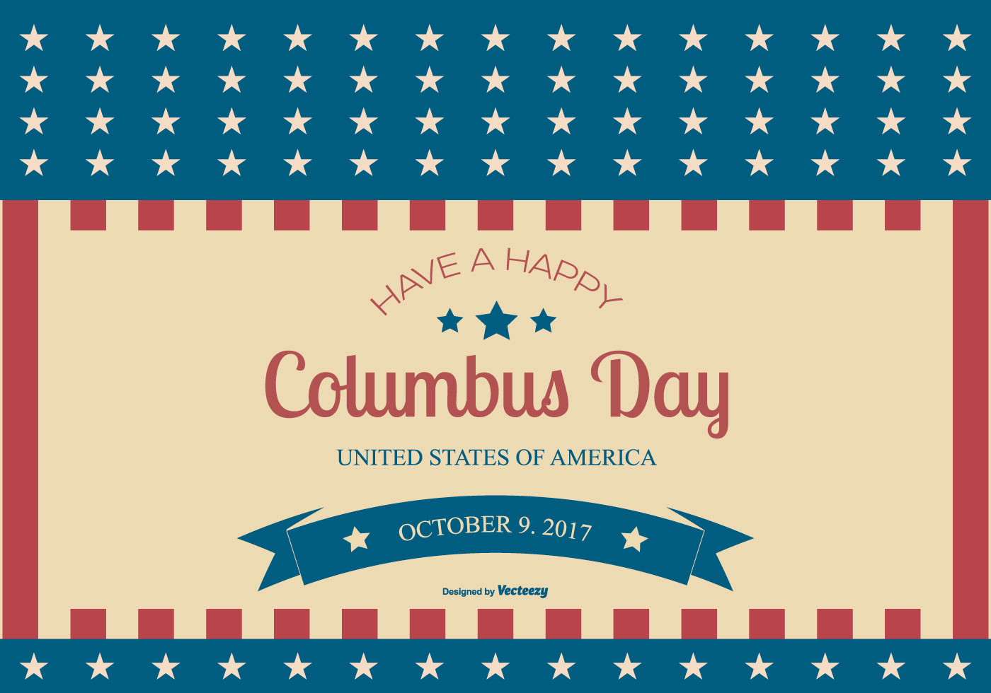Columbus Day Illustration