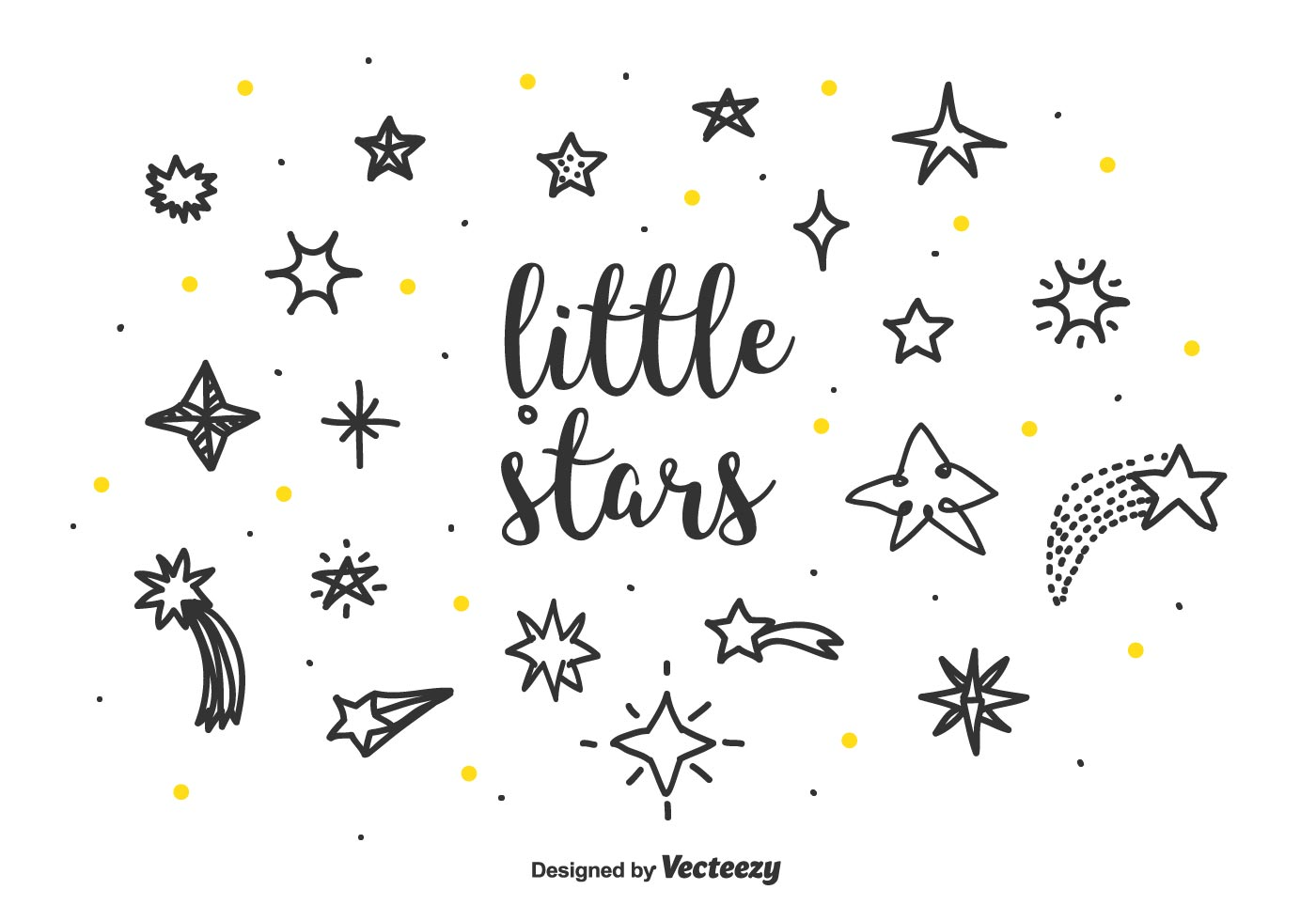 Cute Shooting Star