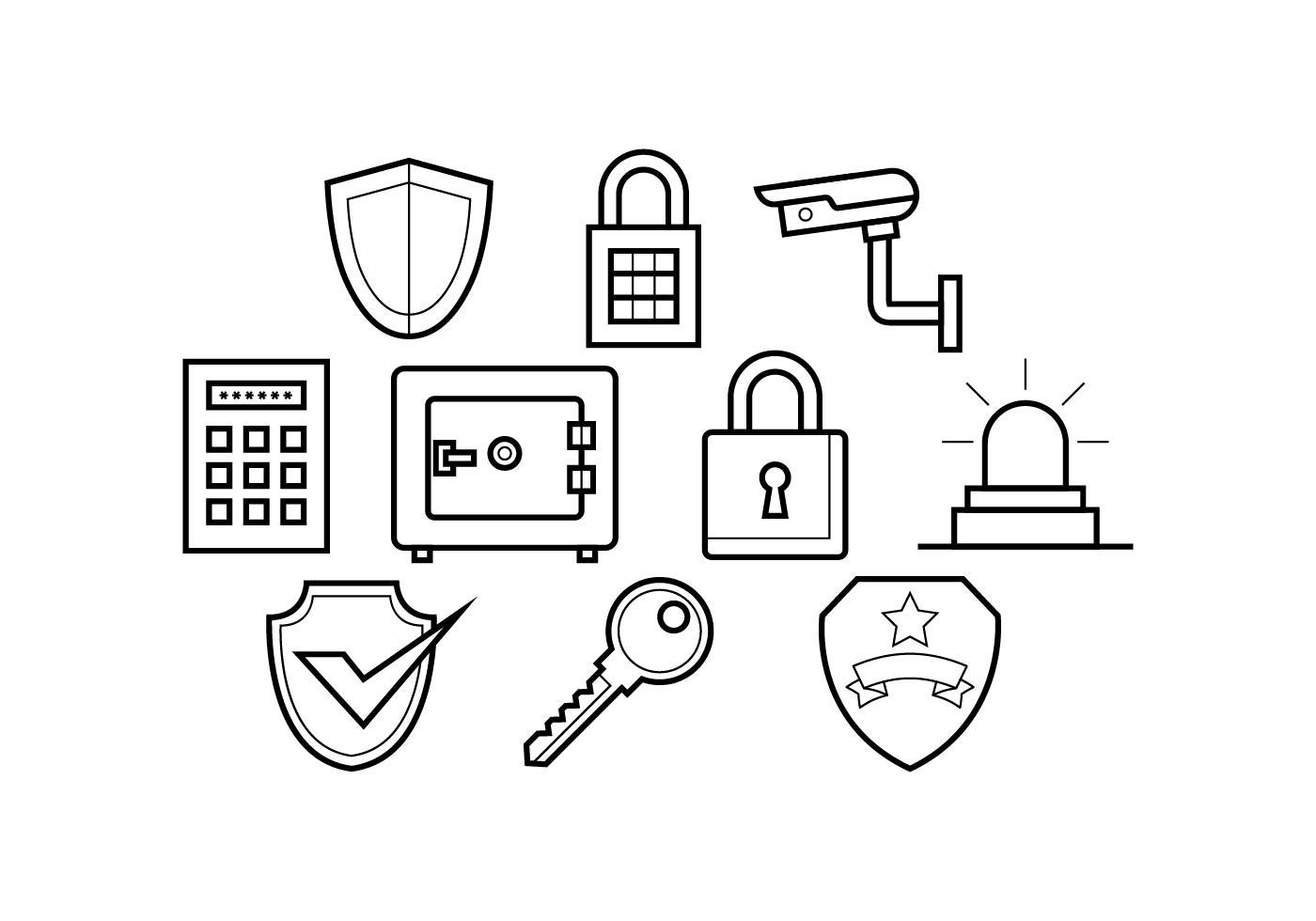 Secure Free Vector Art