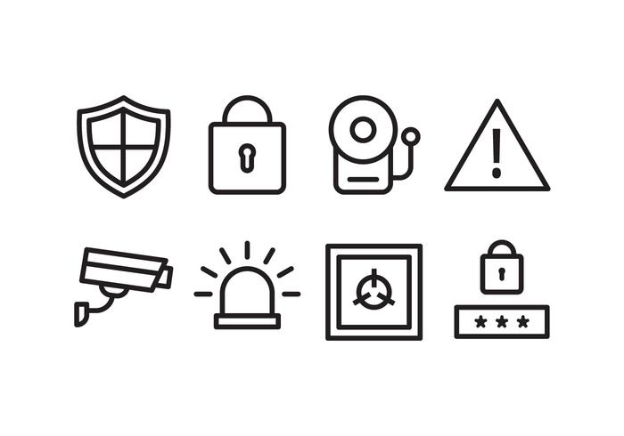 Security Alarm Icon