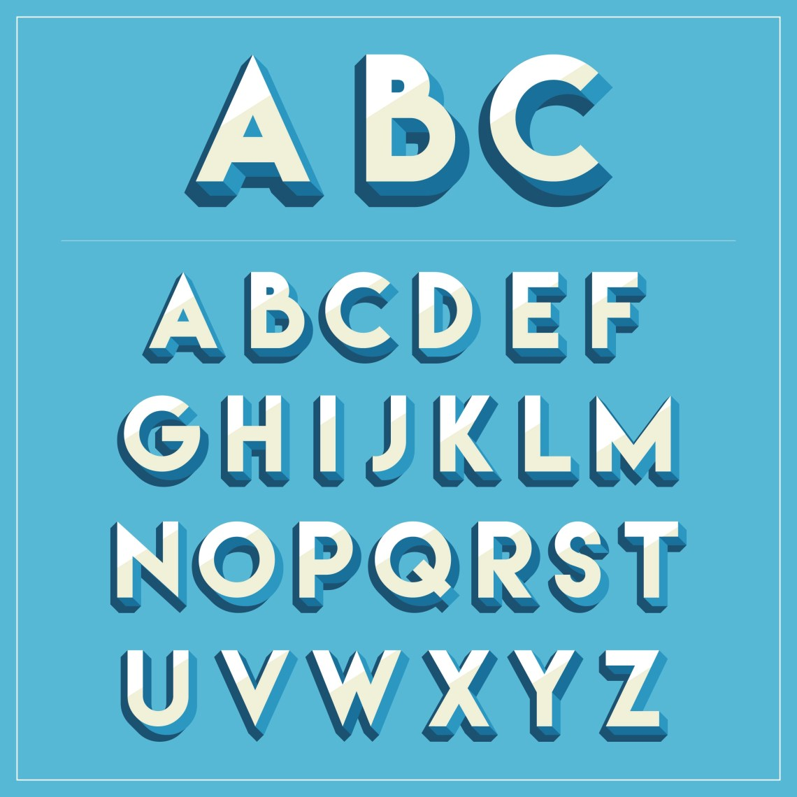 Download 3d Fonts Free Vector Art - (3813 Free Downloads)