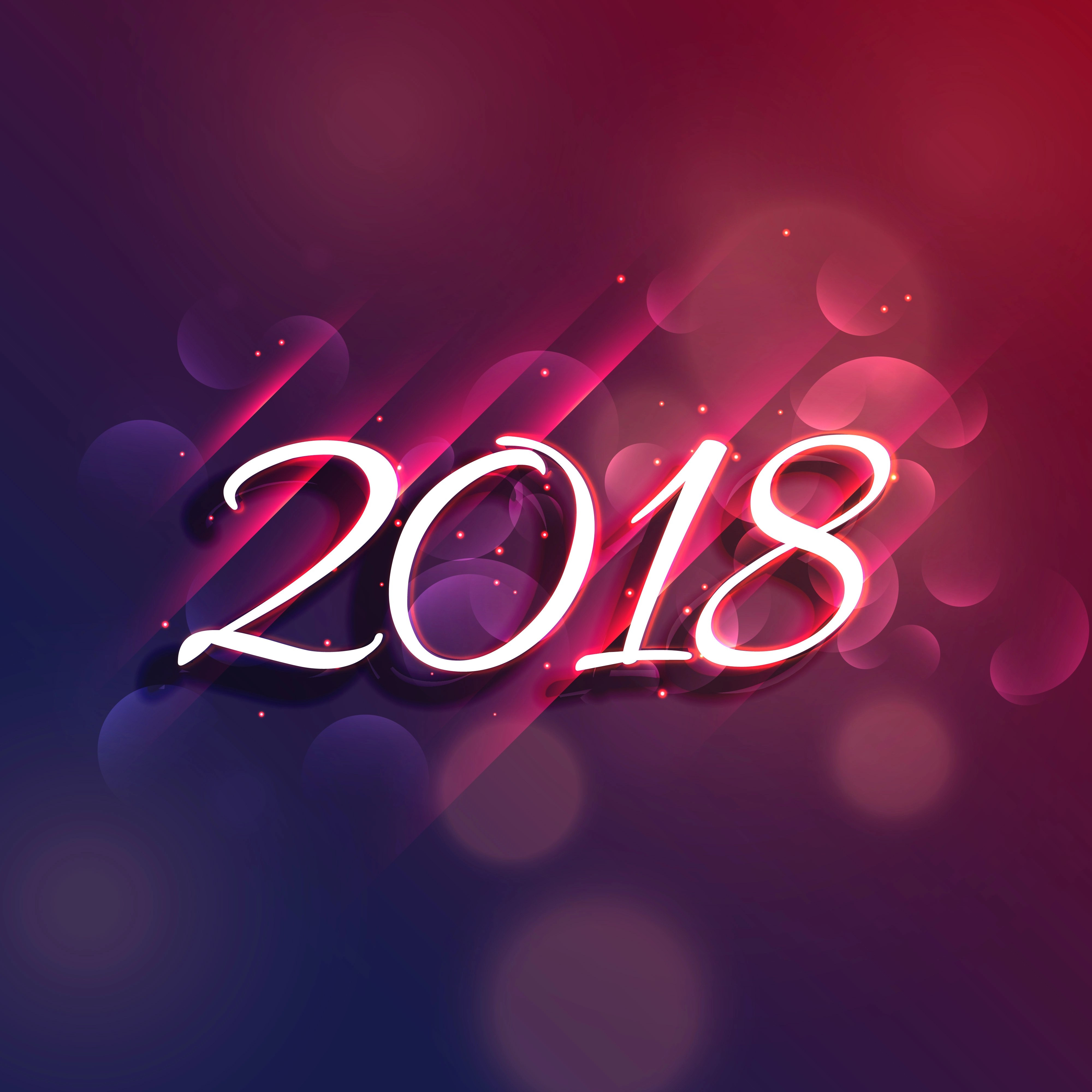 Vector Shiny New Year Greeting Design